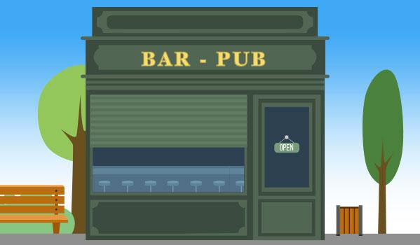 Bar LIc IV à Bordeaux St Michel