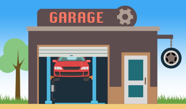 Fonds de commerce garage