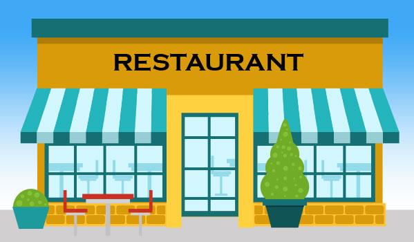 Murs et FDC Restaurant Bordeaux CUB
